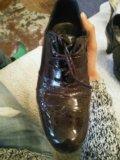 Туфли кожаные. Фото 3.