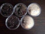 Монеты евро-2012 украина. Фото 1.