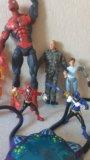 Человек-паук, роботы,человек-факел. Фото 3.