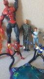 Человек-паук, роботы,человек-факел. Фото 4.