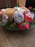 Цветочный букет из мыла. Фото 2.