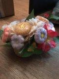 Цветочный букет из мыла. Фото 3.