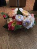 Цветочный букет из мыла. Фото 4.