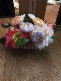 Цветочный букет из мыла. Фото 1.