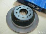 Оригинальные задние тормозные диски санта фе 3. Фото 1.