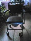 Кресло-каталка. Фото 1.