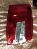 Задний левый фонарь на skoda octavia. Фото 1.