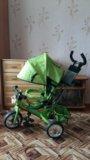 Детский 3х колёсный велосипед. Фото 1.