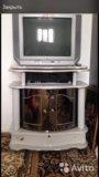 Телевизор , подставка. Фото 1.