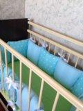 Бортики в детскую кроватку. Фото 3.