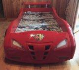 Детская кровать - машина. Фото 2.