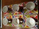 Набор посуды - сервиз ( кофейный) 6 шт. Фото 2.