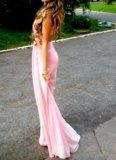 Розовое платье. Фото 3.