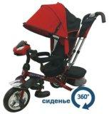 Новые. formula 4 трехколесный велосипед пвх колеса. Фото 1.