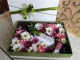 Коробочка с цветами. Фото 1.
