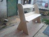 Скамейка для деток. Фото 1.