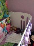 Детская кроватка с маятником. Фото 4.