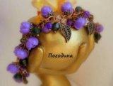 Свадебные украшения. браслет в медном цвете. Фото 1.