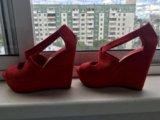 Туфли красные. Фото 1.