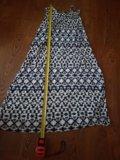 Длинное платье повседневное/пляжное. Фото 3.