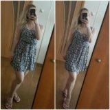 Платье с цветочным принтом 1. Фото 1.