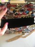Новая яркая сумочка (экокожа). Фото 4.