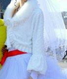 Срочно продам!!!свадебное платье (с кольцами). Фото 2.