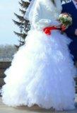 Срочно продам!!!свадебное платье (с кольцами). Фото 3.