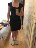 Классическое чёрное платье. Фото 2.