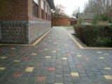 Укладка тротуарной плитки. Фото 1.