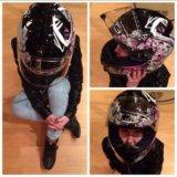 Сегодня шлем. мотошлем hjc. размер s. Фото 4.