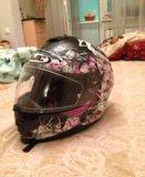 Сегодня шлем. мотошлем hjc. размер s. Фото 1.