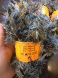 Набор пряжа пакетом с напсами ,травка. Фото 2.