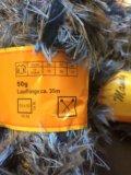 Набор пряжа пакетом с напсами ,травка. Фото 4.