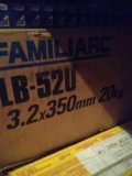 Электрод lb-52u (5 кг; 3.2 мм). Фото 1.