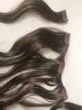 Волосы на заколках искусственные. Фото 1.