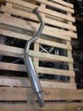 Глушитель. задняя труба митсубиси паджеро 3,2 дизе. Фото 1.
