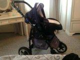 Детская коляска adamex nitro 3 в 1. Фото 1.