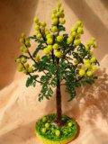 Деревья из бисера. Фото 3.