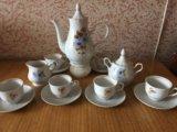 Чайный сервиз на 6 персон. Фото 1.
