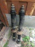 Задние стойки ваз 2110-2112 в сборе без пружин. Фото 1.