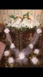 Свадебные украшения на машину. Фото 2.