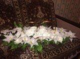 Свадебные украшения на машину. Фото 3.