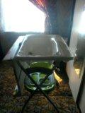 Пеленальный столик + ванночка. Фото 1.