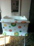 Пеленальный столик + ванночка. Фото 2.