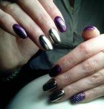 Аппаратный маникюр, покрытие ногтей гель лаком. Фото 4.