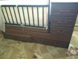 Кроватка. Фото 1.