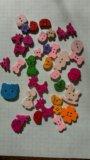 Деревянные детские пуговицы, декоративные. Фото 2.