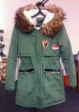 Куртка(парка) женская. Фото 1.