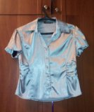 Блуза на пуговицах новая. Фото 1.